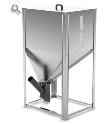 Zbiornik na pellet - 189kg/290L