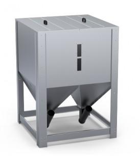 Zbiornik na pellet - 1050 kg/1460 L